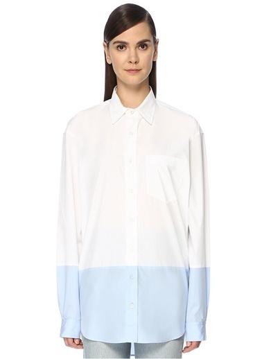 Vetements Gömlek Mavi